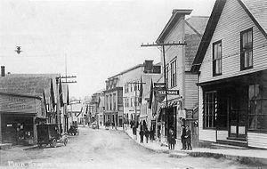 Vinalhaven, Maine - Main Street c. 1915