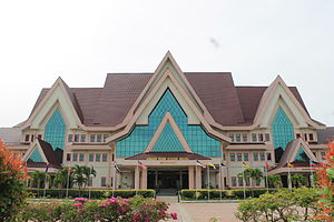 Main building inside Seri Negeri Complex, Malacca