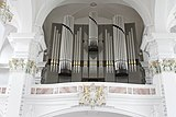 Main pipe organ - Jesuitenkirche - Heidelberg - Germany 2017.jpg