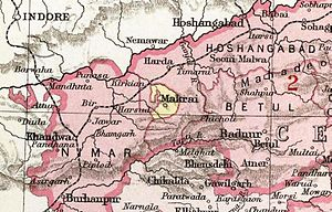 Makrai State - Makrai State in the Imperial Gazetteer of India