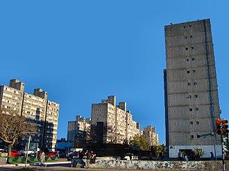 Malvín Norte - The apartment complex Euskalerria 92