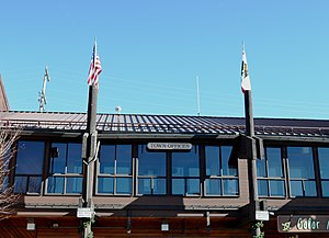 Mammoth Lakes, California - The Town Offices of Mammoth Lakes