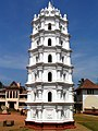 Manguesh temple tower.jpg