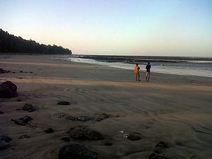 Manori - Manori beach during early morning.