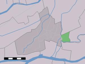 Rietveld, Giessenlanden - Image: Map NL Giessenlanden Rietveld
