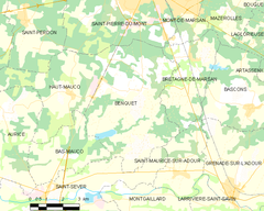 Map commune FR insee code 40037.png