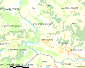 Map commune FR insee code 40231.png