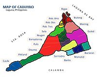 Map of Cabuyao