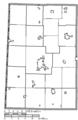 Map of Darke County Ohio Highlighting Burkettsville Village.png