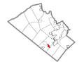 Map of Macungie, Lehigh County, Pennsylvania Highlighted.png