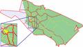 Map of Oulu highlighting Vanhatulli.png