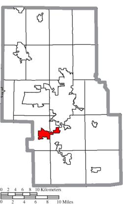Mansfield Ohio Zip Code Map.Lexington Ohio Wikipedia
