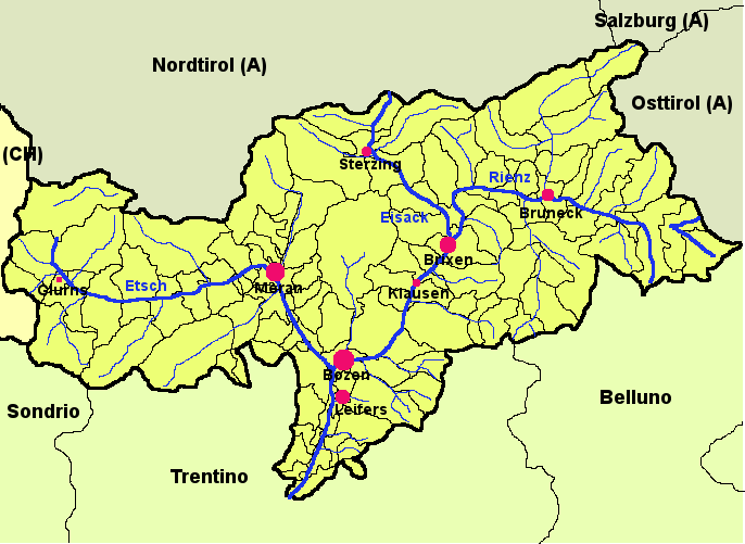 File:Map of South Tyrol.xcf