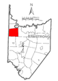 Map of Sugarcreek Township, Armstrong County, Pennsylvania Highlighted.png