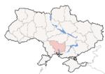 Oblast di Mykolaiv - Mappa di localizzazione