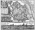 Map over München Munich anno 1740.jpg