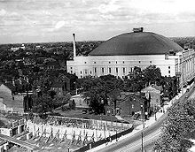 Maple Leaf Gardens was the home arena for the Maple Leafs from 1931 to 1999.