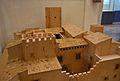 Maqueta del palau dels Centelles d'Oliva, Museu Arqueològic.JPG