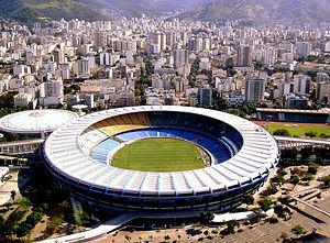 1989 Copa América - Image: Maracanã Stadium in Rio de Janeiro