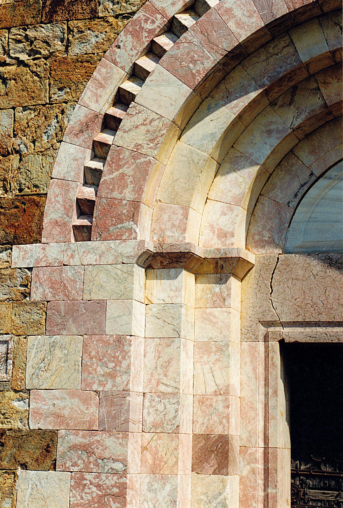 Frise de dents d 39 engrenage wikip dia for Architecture romane definition
