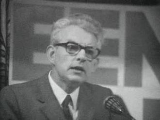 Communist Party of the Netherlands - Marcus Bakker in 1972