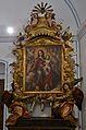 Mare de Déu del Rosari (Jeroni Jacint Espinosa) i retaule oratori (Ignasi Vergara), museu Marià, València.JPG