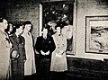 """Marie og Gulbrand Lunde Et liv i kamp for Norge Rikspropagandaledelsen Blix forlag 1942 Page 033 """"Kunst og ukunst"""", Fuglesang, Rasmussen, Lunde, Minesteraldirektor Berndt, direktør Osanger.jpg"""