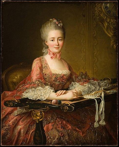 File:Marquise de Caumont La Force, by Francois Hubert Drouais.jpg