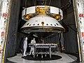 Mars 2020 spacecraft thermal vacuum test PIA23263- D2019 0426 G2775 (cropped).jpg