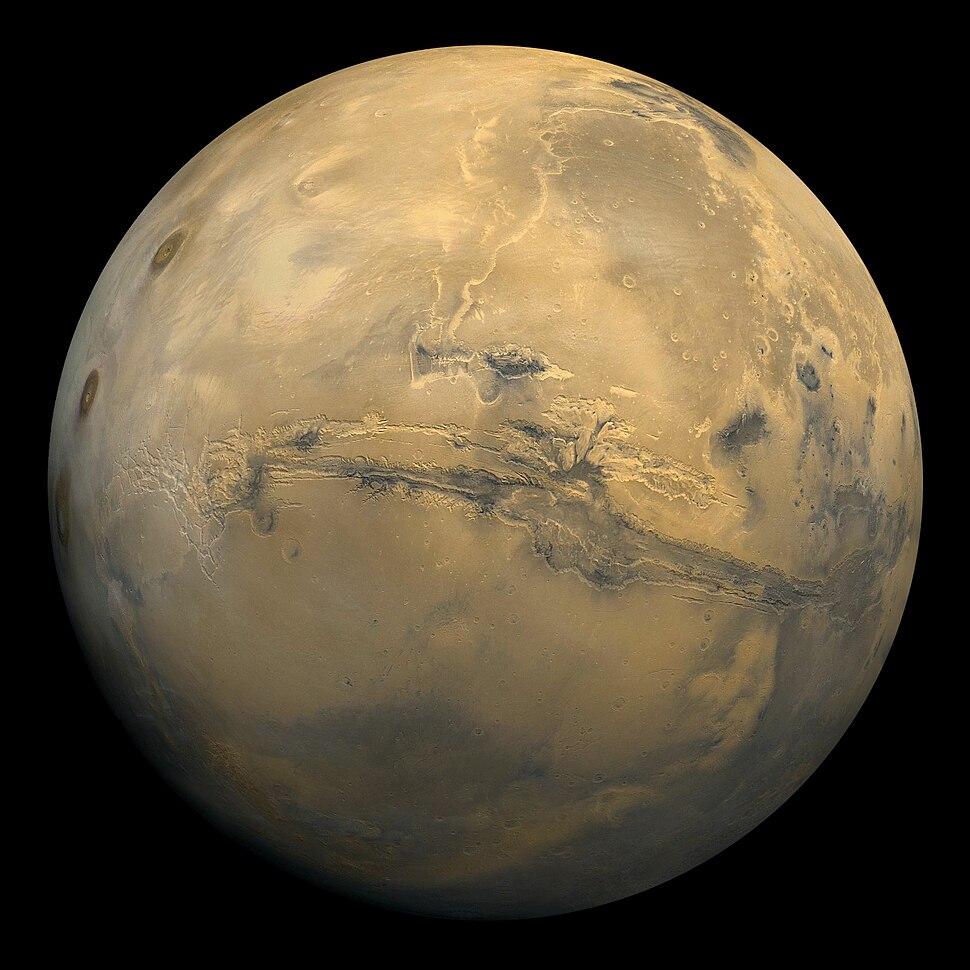 Mars Valles Marineris EDIT