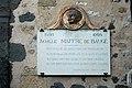 Marseillan plaque Maffre de Bauge.JPG