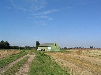 Pinchbeck, Lincolnshire - A view across Pinchbeck Marsh