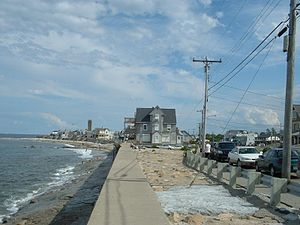Marshfield, Massachusetts - Brant Rock looking south