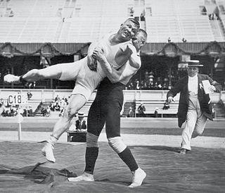 Alfred Asikainen Olympic wrestler