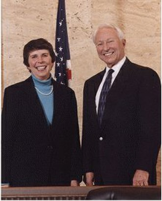 United States Court of Appeals for the Ninth Circuit - Former Chief Judges Mary M. Schroeder and Procter Ralph Hug Jr.