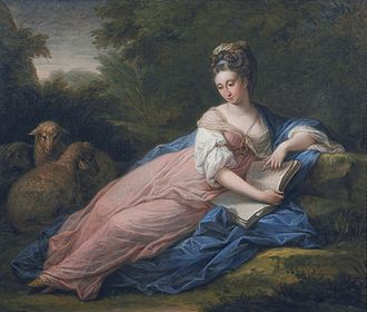 Philip Tisdall - Mary Tisdal (Angelica Kauffmann, ca. 1771/72)