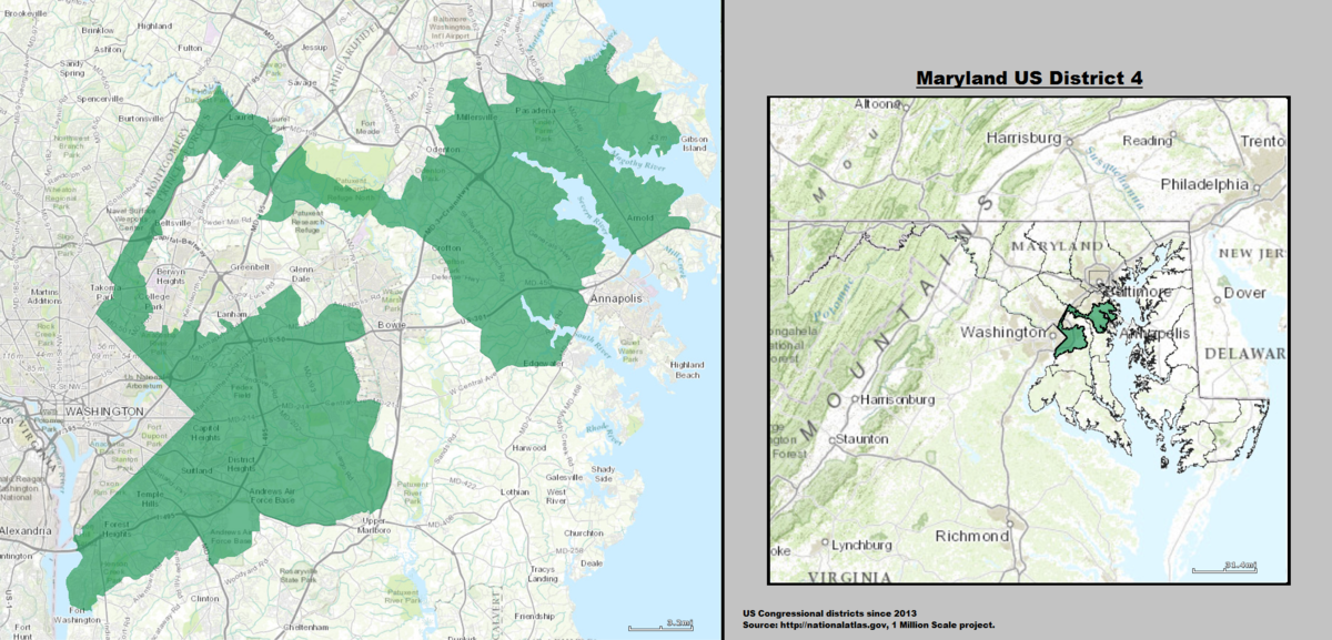 Maryland\'s 4th congressional district - Wikipedia