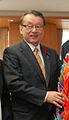 Masaharu Nakagawa cropped 1 Takashi Kii Yuko Mori Masaharu Nakagawa and John Roos 201110.jpg