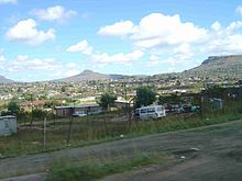 Maseru wikipedia view from the main road south in maseru sciox Images