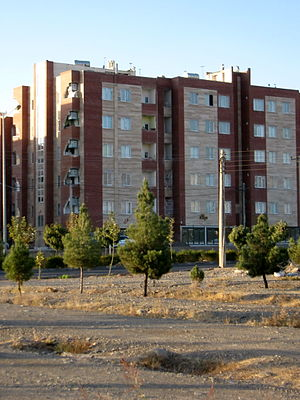 Construction industry of Iran - Mehr Housing project in Iran.