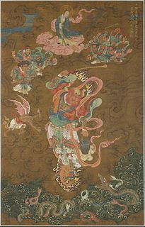 Leigong Chinese Taoist deities who punish evildoers by thunder and chisels