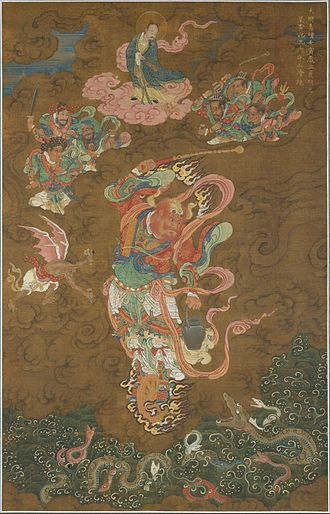 Leigong - Leigong as depicted in a 1542 painting from the Ming dynasty