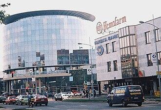 Sajmište, Novi Sad - Image: Master centar