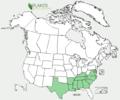 Matelea carolinensis US-dist-map.png