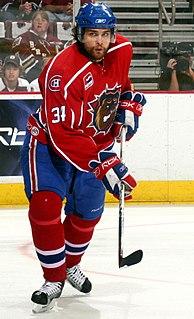 Mathieu Biron Canadian ice hockey defenceman