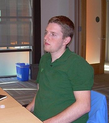 Matt Mullenweg, American entrepreneur and founding developer of the popular open-source blogging software WordPress.
