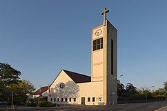 Iglesia de San Mateo, Darmstadt (1949- 1950)