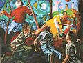 """Matthias Laurenz Graeff. """"Der Weg zurück (Nach Erich Maria Remarque)"""", 2006.jpg"""