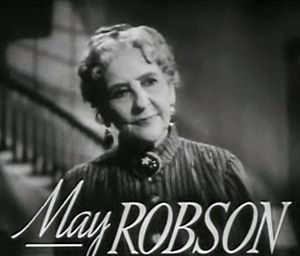 May Robson - May Robson in Four Daughters (1938)