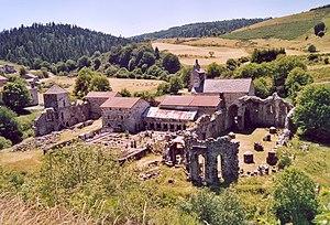 Mazan Abbey - Mazan Abbey ruins
